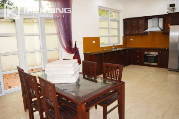 Ciputra  furnished villa for rent in T5 block with 5 bedroooms, full of natural light 4