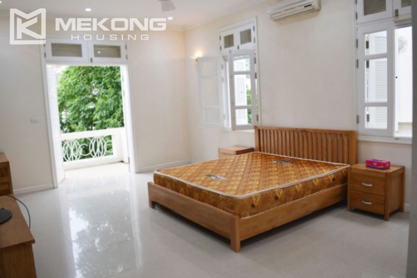Ciputra  furnished villa for rent in T5 block with 5 bedroooms, full of natural light 11