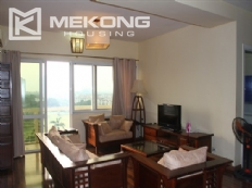 Ciputra Hanoi apartment with 4 bedrooms for rent, wooden floor