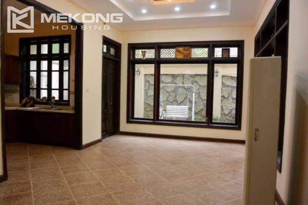 Unfurnished villa with 5 bedrooms for rent in G block, Ciputra Hanoi