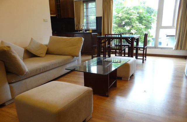 Cozily decorated apartment with 1 bedroom in Dang Thai Mai street