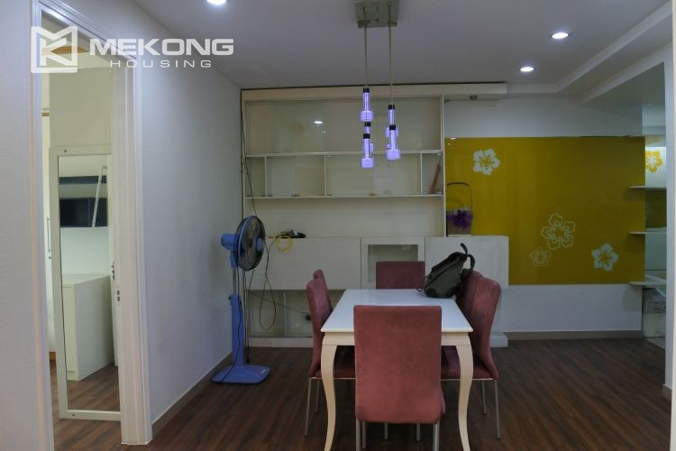 Cozily furnished apartment with 3 bedrooms on middle level in E4 Ciputra Hanoi 4