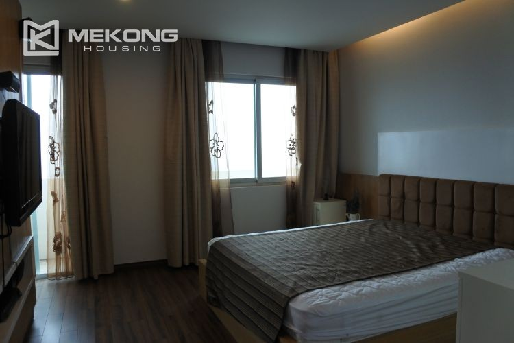 Cozily furnished apartment with 3 bedrooms on middle level in E4 Ciputra Hanoi 11
