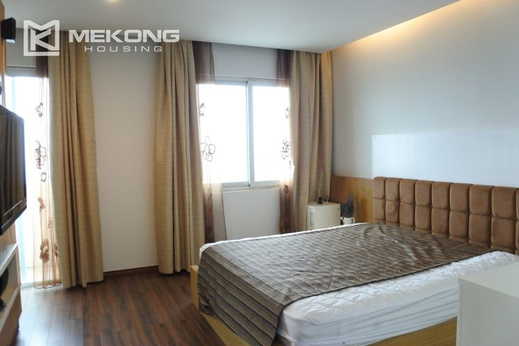 Cozily furnished apartment with 3 bedrooms on middle level in E4 Ciputra Hanoi 12