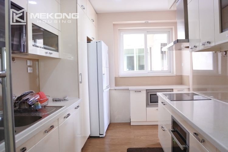 Cozily furnished apartment with 3 bedrooms on middle level in E4 Ciputra Hanoi 6