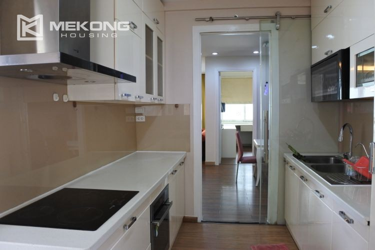 Cozily furnished apartment with 3 bedrooms on middle level in E4 Ciputra Hanoi 8