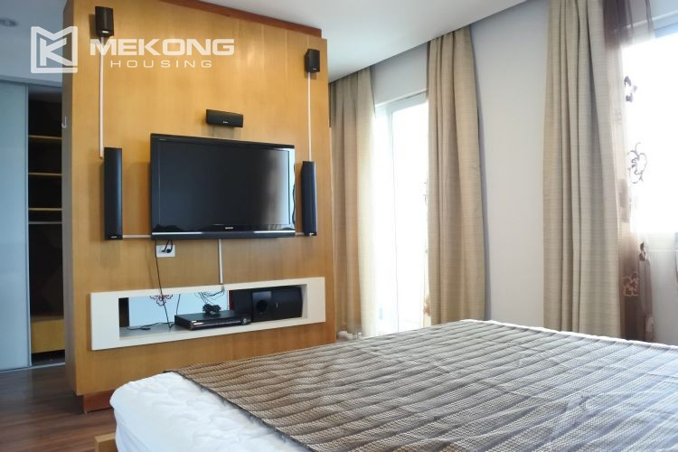 Cozily furnished apartment with 3 bedrooms on middle level in E4 Ciputra Hanoi 13