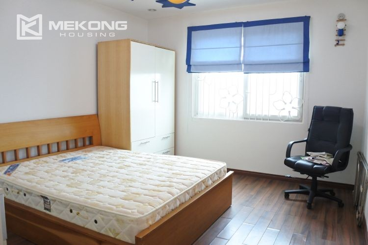 Cozily furnished apartment with 3 bedrooms on middle level in E4 Ciputra Hanoi 15