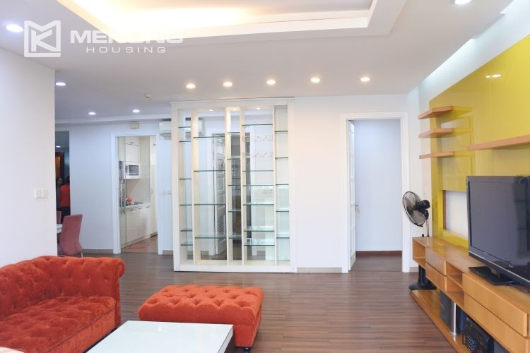 Cozily furnished apartment with 3 bedrooms on middle level in E4 Ciputra Hanoi 17