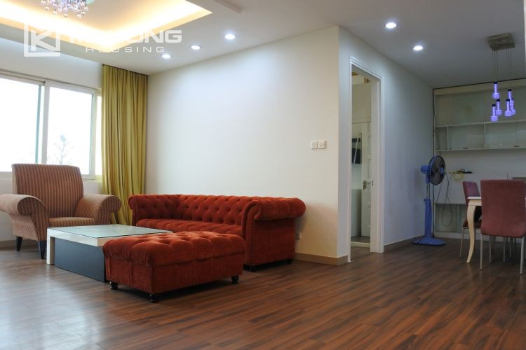 Cozily furnished apartment with 3 bedrooms on middle level in E4 Ciputra Hanoi 18