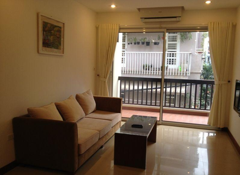 Cozy 1 Bedroom Serviced Apartment For Rent In Phuong Mai Street, Dong Da,  Hanoi
