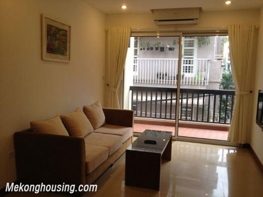 Cozy 1 bedroom serviced apartment for rent in Phuong Mai street, Dong Da, Hanoi 1