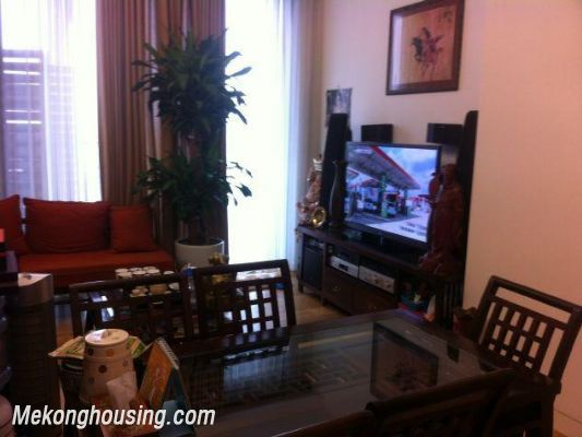 Cozy apartment with 2 bedrooms for rent in Lancaster, Nui Truc street, Ba Dinh, Hanoi 1