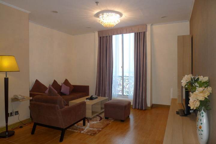 Cozy serviced apartment for rent in Doi Can street, Ba Dinh district, Ha noi