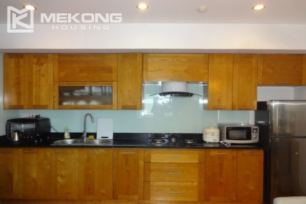Cozy serviced apartment with 1 bedroom for rent in Nghi Tam village, Tay Ho,  Hanoi 8