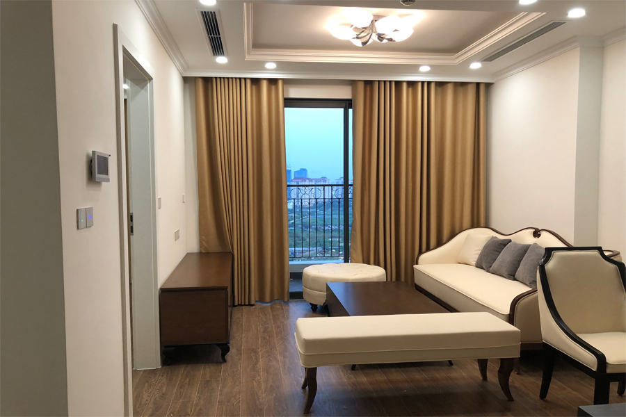 Elegant 02 bedroom apartment on high floor in Sunshine Riverside Hanoi 2