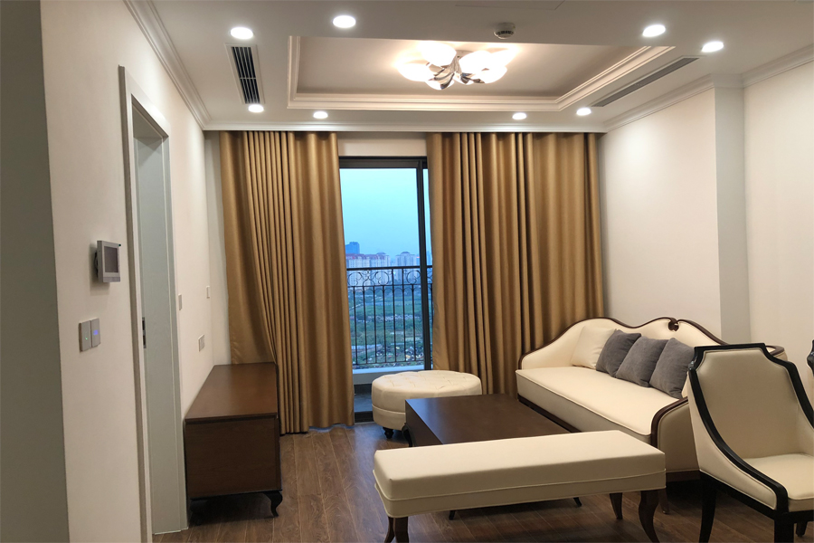 Elegant 02 bedroom apartment on high floor in Sunshine Riverside Hanoi 3