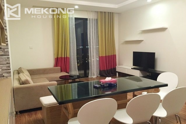 Elegant apartment with 2 bedrooms for rent in Times City 1
