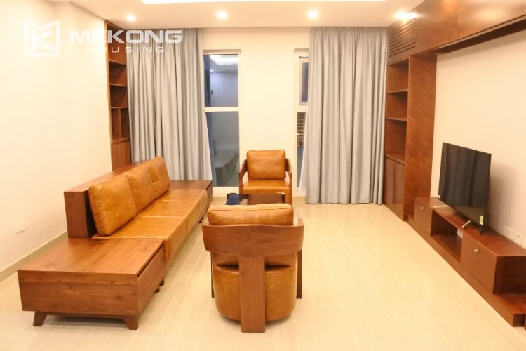 Fantastic 154 sqm apartment with 3 bedrooms on high floor in L3 tower Ciputra Hanoi 15