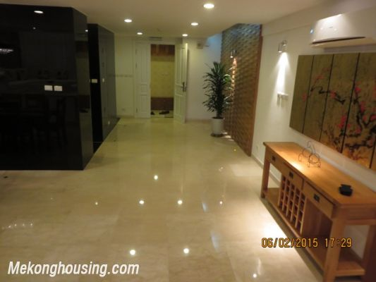Fantastic Furnished Penthouse With 5 Bedrooms For Rent In Ciputra Hanoi,  High Ceiling, Beautiful View