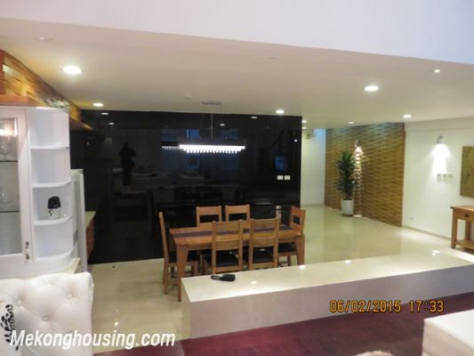 Fantastic Furnished Penthouse With 5 Bedrooms For Rent In Ciputra Hanoi,  High Ceiling, Beautiful