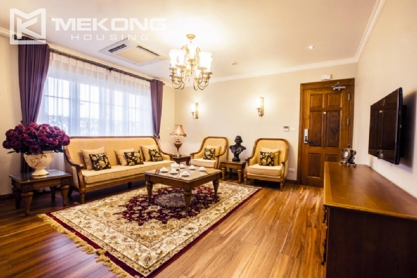 Fantastic Penthouse apartment with large terrace and luxury furniture for rent in Thai Phien street, Hai Ba Trung district 17