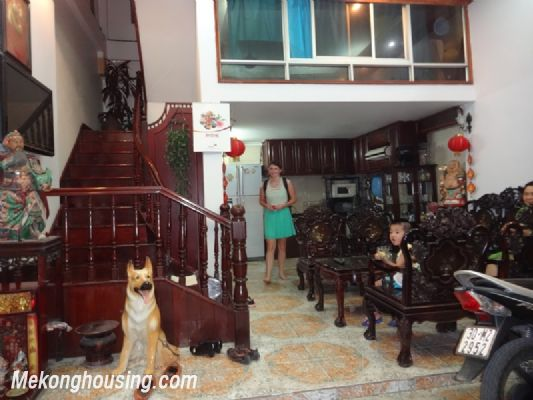 Four bedroom house for rent in Vinh Phuc street, Ba Dinh district, Hanoi 1