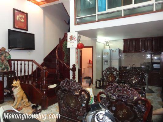Four bedroom house for rent in Vinh Phuc street, Ba Dinh district, Hanoi 2