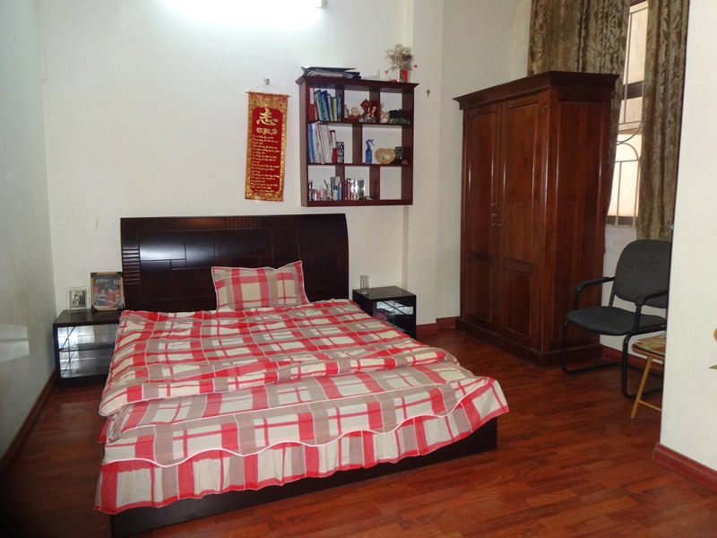 Four bedrooms house for rent in Vinh Phuc street, Ba Dinh district, Hanoi