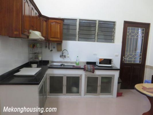 Four bedrooms house for rent in Ton Duc Thang street, Dong Da, Hanoi 5