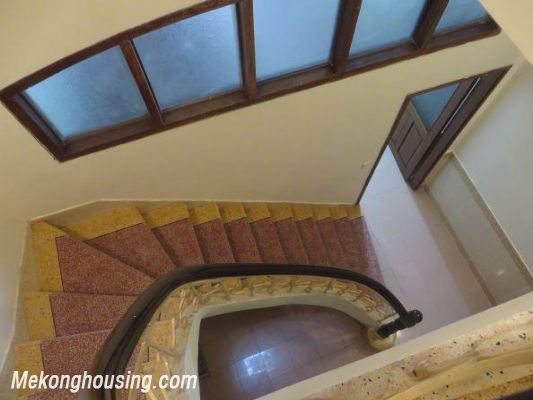 Four bedrooms house for rent in Ton Duc Thang street, Dong Da, Hanoi 7