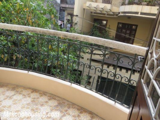 Four bedrooms house for rent in Ton Duc Thang street, Dong Da, Hanoi 11