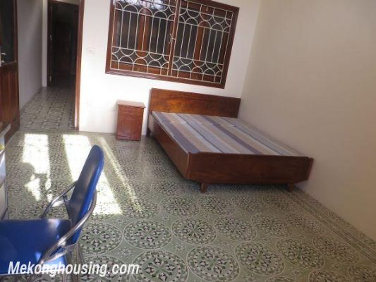 Four bedrooms house for rent in Ton Duc Thang street, Dong Da, Hanoi 15