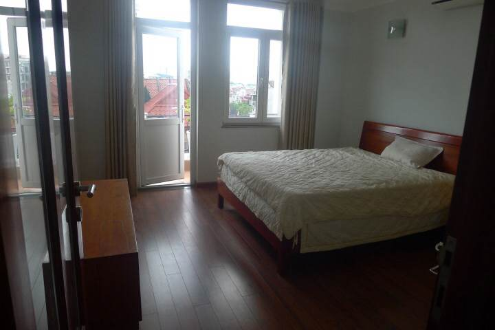 Full furnished serviced apartment for rent in Cat Linh, Dong Da, Hanoi