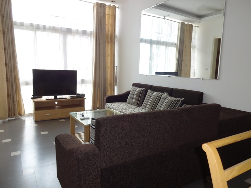 Full furniture serviced apartment for rent in Linh Lang street, Ba Dinh district, Hanoi