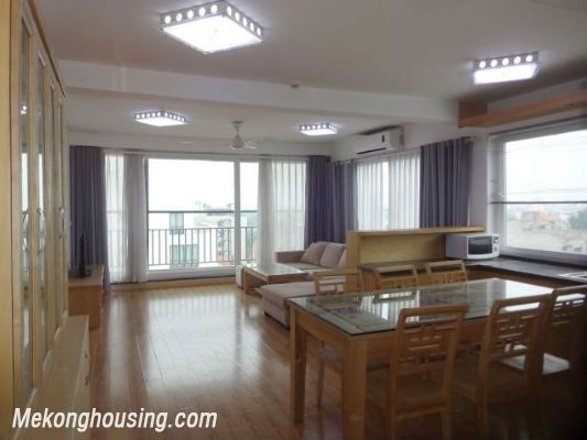 Full natural light apartment with 2 bedrooms for rent in To Ngoc Van street, Tay Ho, Hanoi 1