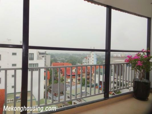 Full natural light apartment with 2 bedrooms for rent in To Ngoc Van street, Tay Ho, Hanoi 3