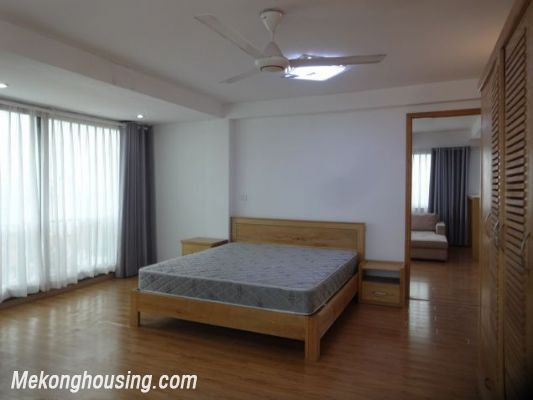 Full natural light apartment with 2 bedrooms for rent in To Ngoc Van street, Tay Ho, Hanoi 10