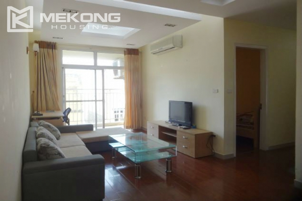 Fullly furnished apartment with 2 bedrooms for rent at 713 Lac Long Quan street, Tay Ho, Hanoi 1