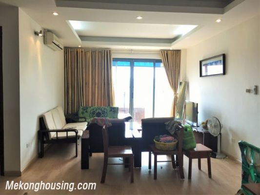 Fullly furnished apartment with 3 bedrooms for rent in Vuon Dao building, Lac Long Quan street, Tay Ho 2