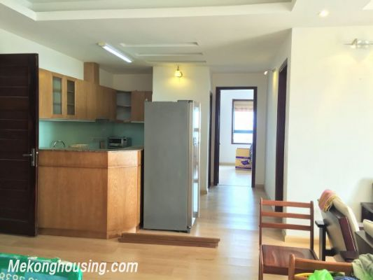Fullly furnished apartment with 3 bedrooms for rent in Vuon Dao building, Lac Long Quan street, Tay Ho 3