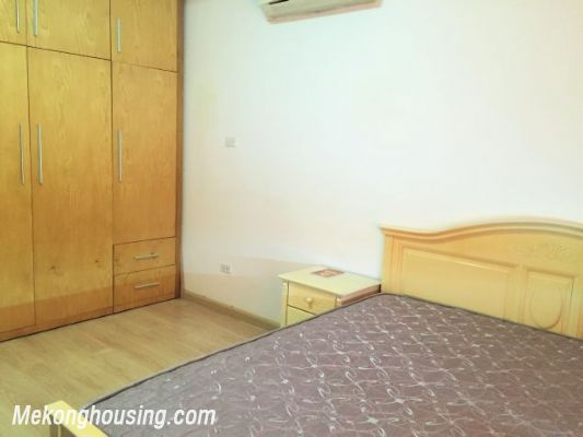 Fullly furnished apartment with 3 bedrooms for rent in Vuon Dao building, Lac Long Quan street, Tay Ho 6