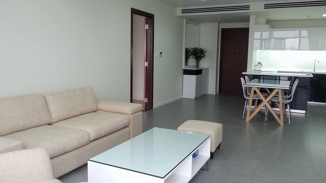 Fully and modern furnished with 02 bedrooms apartment for rent in WaterMark Ho Tay