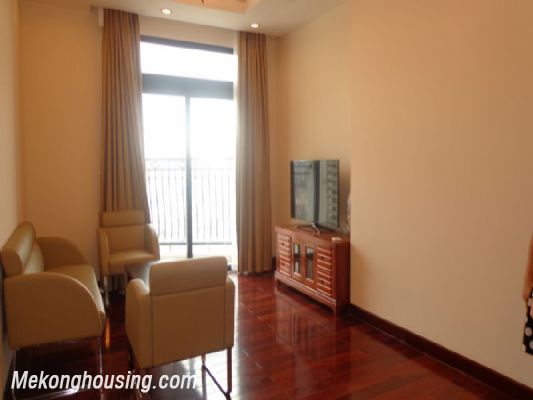Fully furnished 2 bedroom apartment on high floor for rent in Vinhomes Royal City, Thanh Xuan district, Hanoi 1