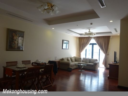 Fully furnished 2 bedroom apartment with swimming pool on high floor for rent in Vinhomes Royal City, Thanh Xuan district, Hanoi 1
