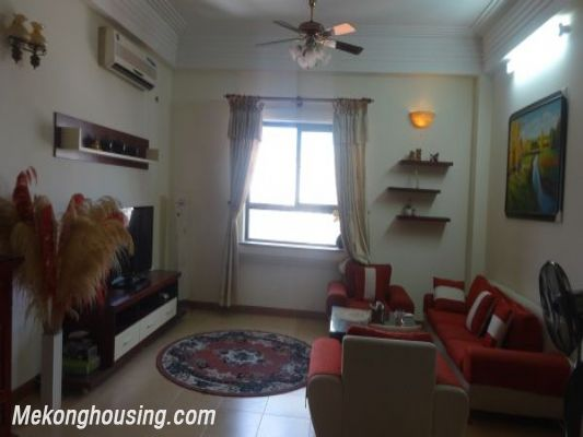 Fully furnished apartment for rent in Doc Ngu street, Ba Dinh district, Hanoi 1