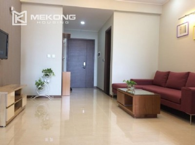 Fully furnished apartment with 2 bedrooms in Trang An Complex, Cau Giay district