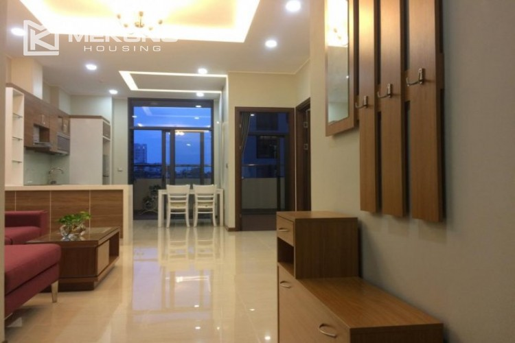 Fully furnished apartment with 2 bedrooms in Trang An Complex, Cau Giay district 2