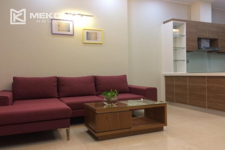 Fully furnished apartment with 2 bedrooms in Trang An Complex, Cau Giay district 3