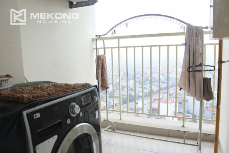 Fully furnished apartment with 3 bedrooms for rent at 713 Lac Long Quan street, Tay Ho 8